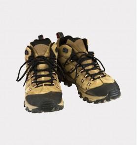 Merrell Outland Mid Waterproof Brown Hiking Boot