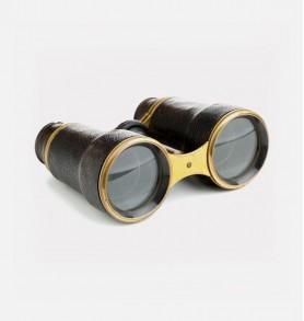 Huntdown Black Waterproof Binoculars with Nylon Carrying Case
