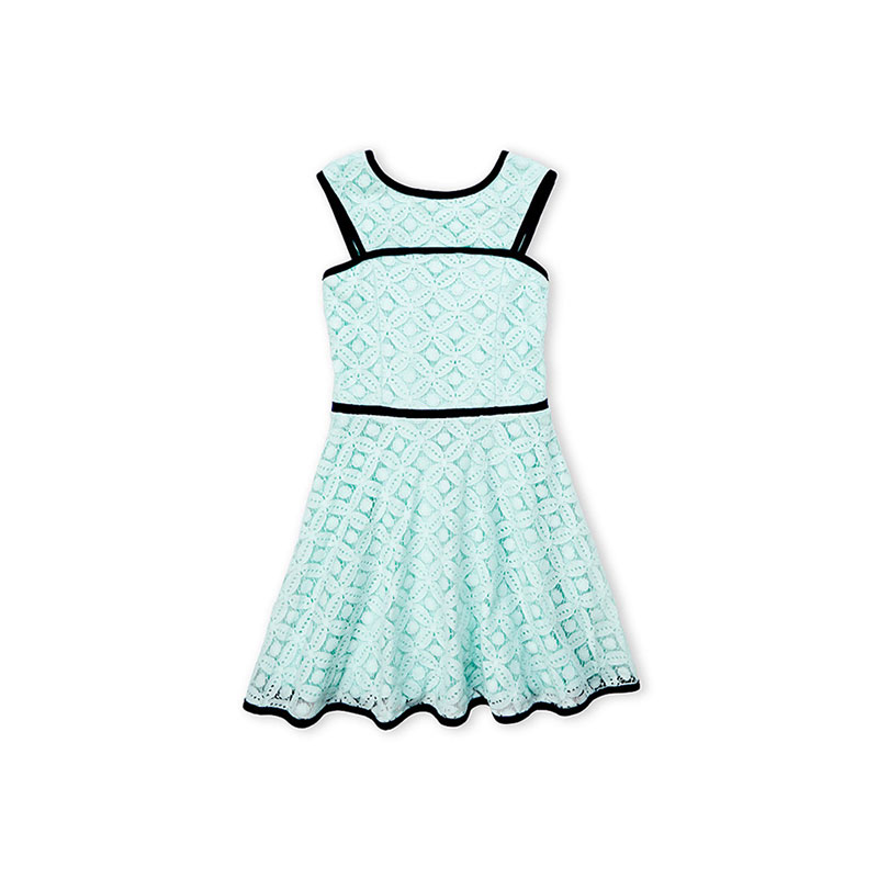 Polka dotted singlet frock