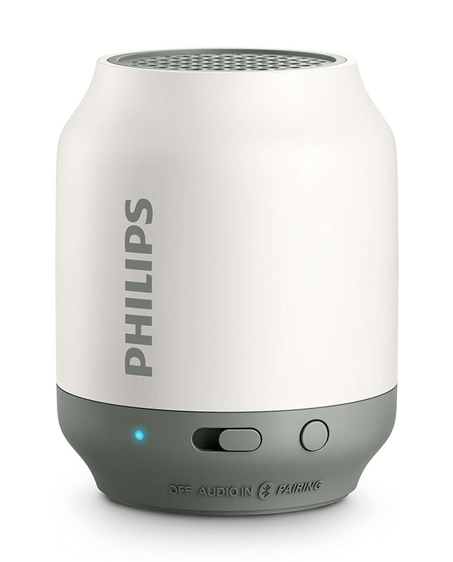 Philips BT100V/37 wireless mini portable bluetooth speaker